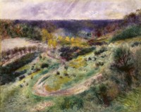 """Landscape at Wargemont"" by Pierre-Auguste Renoir, 1879"