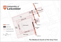 Grey Friars site map