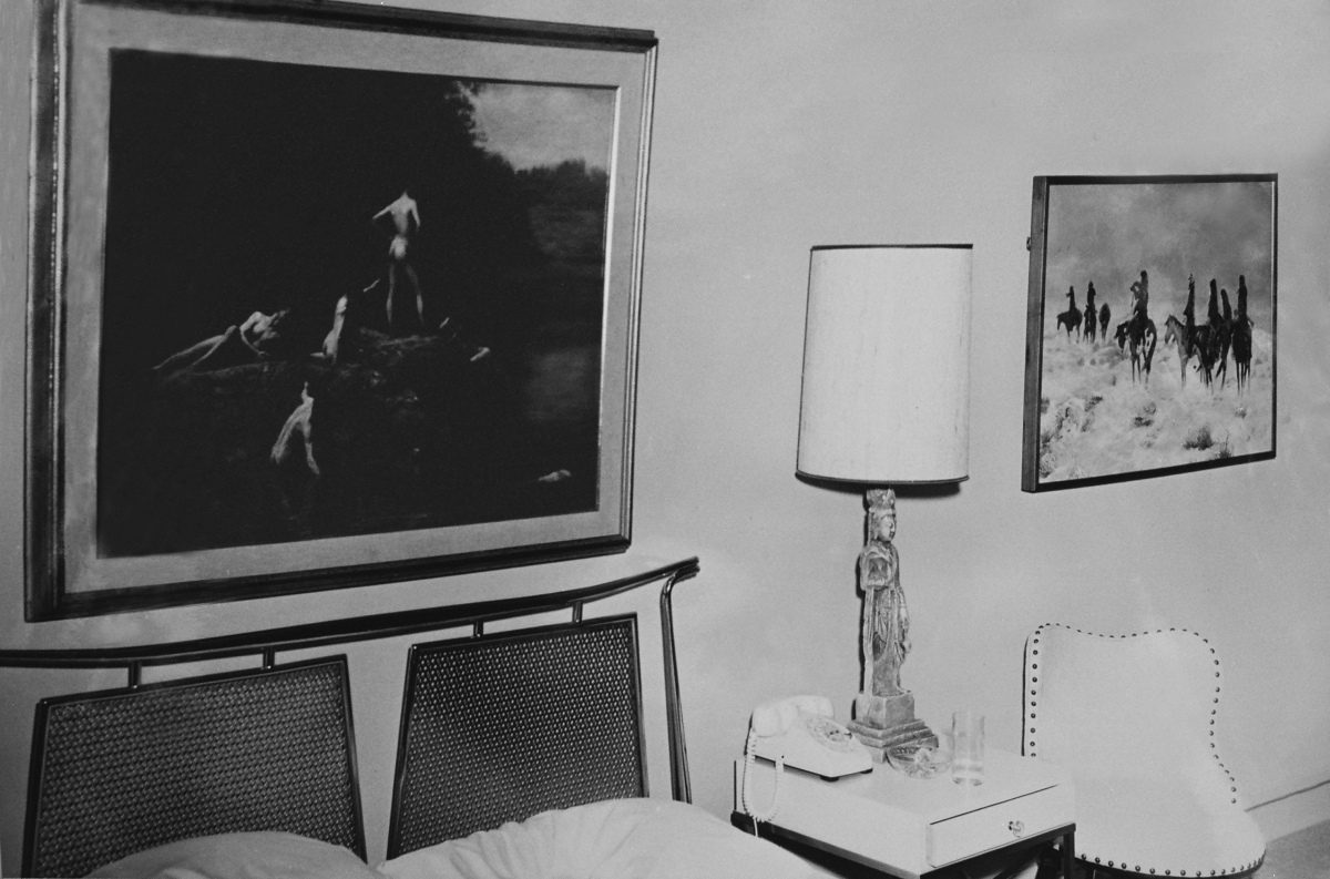 The History Blog Blog Archive Exhibit To Reunite Art From Kennedy S Last Hotel Room