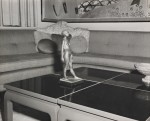 Suite 850 parlor, Eros Pellini nude on the coffee table, cheesy &quot;Chinese modern&quot; screen on the wall