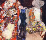 """The Bride"" by Gustav Klimt, 1917-18"