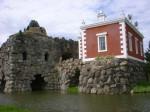 Wörlitz Rock Island and the neo-Renaissance Villa Hamilton