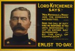 """Lord Kitchener says"" recruitment poster"
