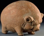 Majapahit piggy bank in National Museum