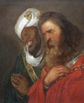 Guy de Lusignan and Saladin by Jan Lievens, 1625
