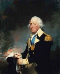 Horatio Gates wearing the gold medal given him by Congress for the victory at Saratoga, portrait by Gilbert Stuart