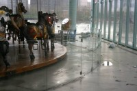 Inside Jane's Carousel after Sandy