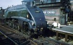 Mallard at Kings Cross in 1962, right before its retirement