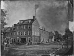 Marshall House Hotel by Matthew Brady, ca. 1860-65