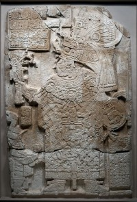 Stela 34 depicting Lady K'abel, 692 A.D., Cleveland  Art Museum