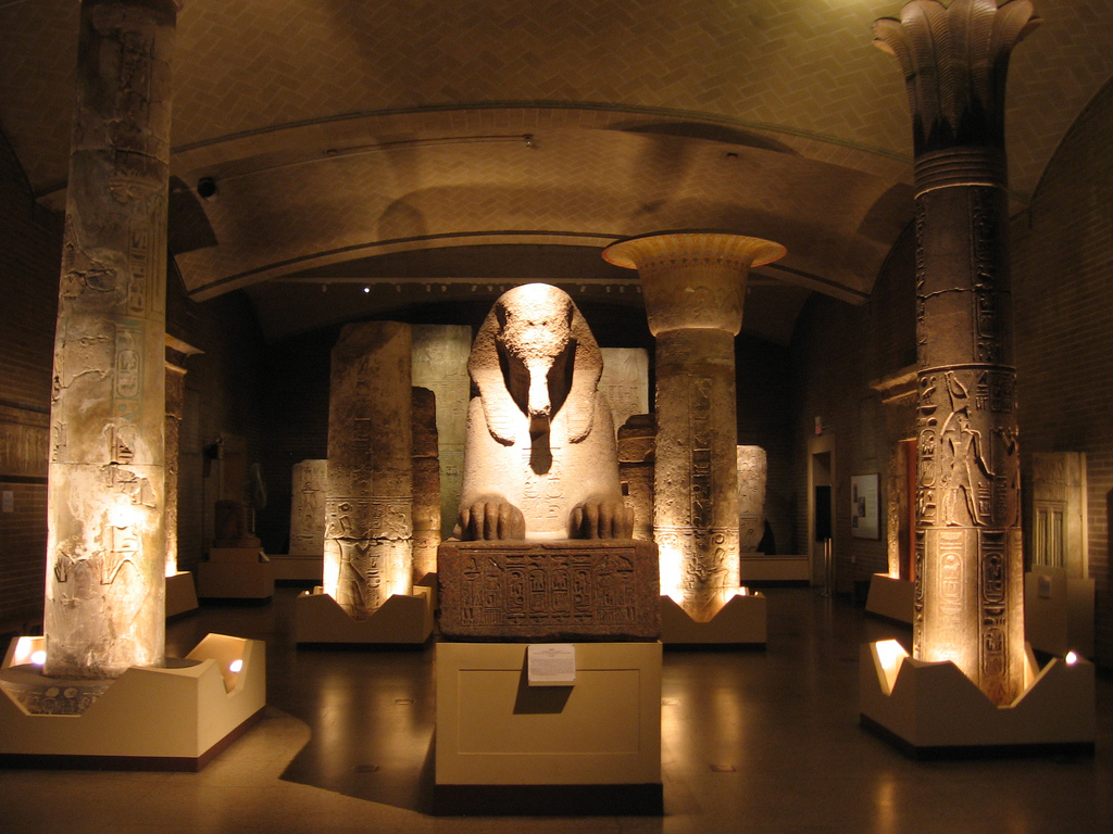 Penn Museum Lower Egyptian Gallery