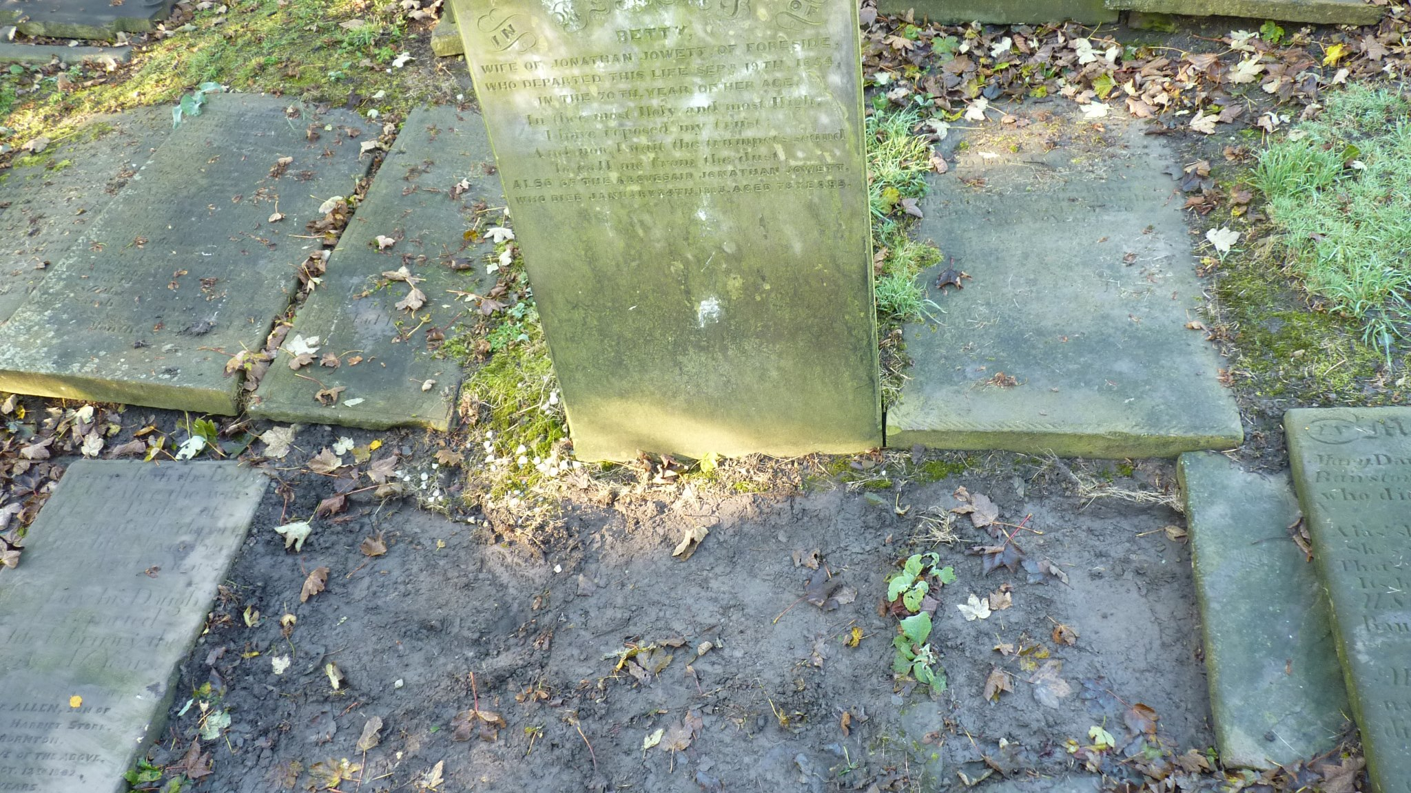 Granite Grave Slabs : The history archive stone slabs stolen from