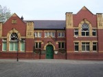 Pontefract Museum in its beautiful Art Nouveau building