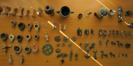 Artifacts stolen from Olympia museum