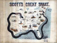 Cartoon of General Winfield Scott's Anaconda Plan, 1861