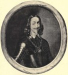 King Charles I wearing the George