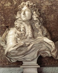 Bust of Louis XIV by Gianlorenzo Bernini, 1665