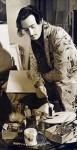 Salvador Dalí designing Bacchanale sets