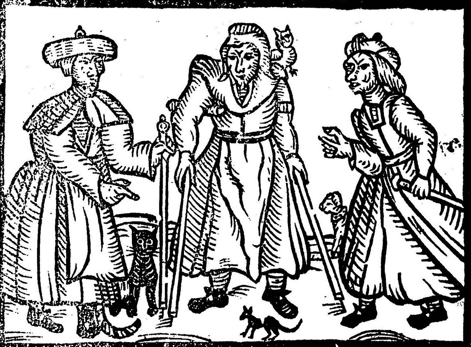 witch craft in the 16th 17th century