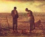 The Angelus by Jean-Francois Millet, 1859