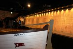 Titanic plan on display at the Titanic Belfast museum