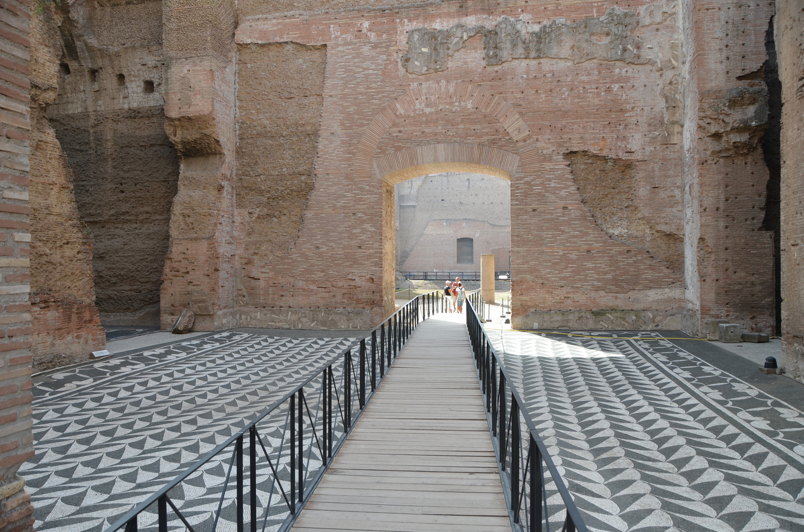 Forgotten Dm Tunnels Under Caracalla Baths Open To The Public
