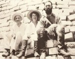 F.A. and Anna Mitchell-Hedges on Maya ruins