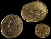 Gold staters of the Médiomatrique tribe found at Bassing