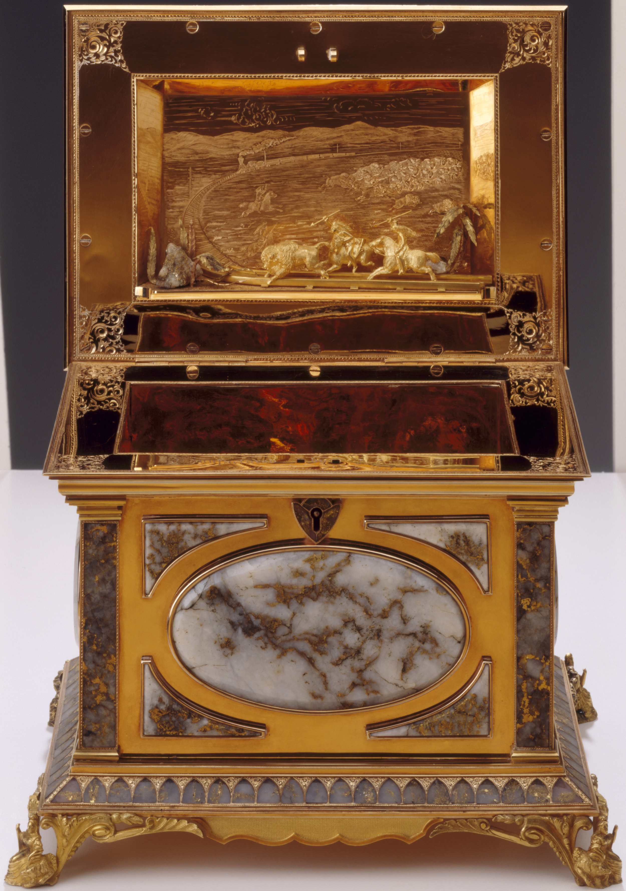The History Blog Blog Archive Gold Rush jewelry box stolen from