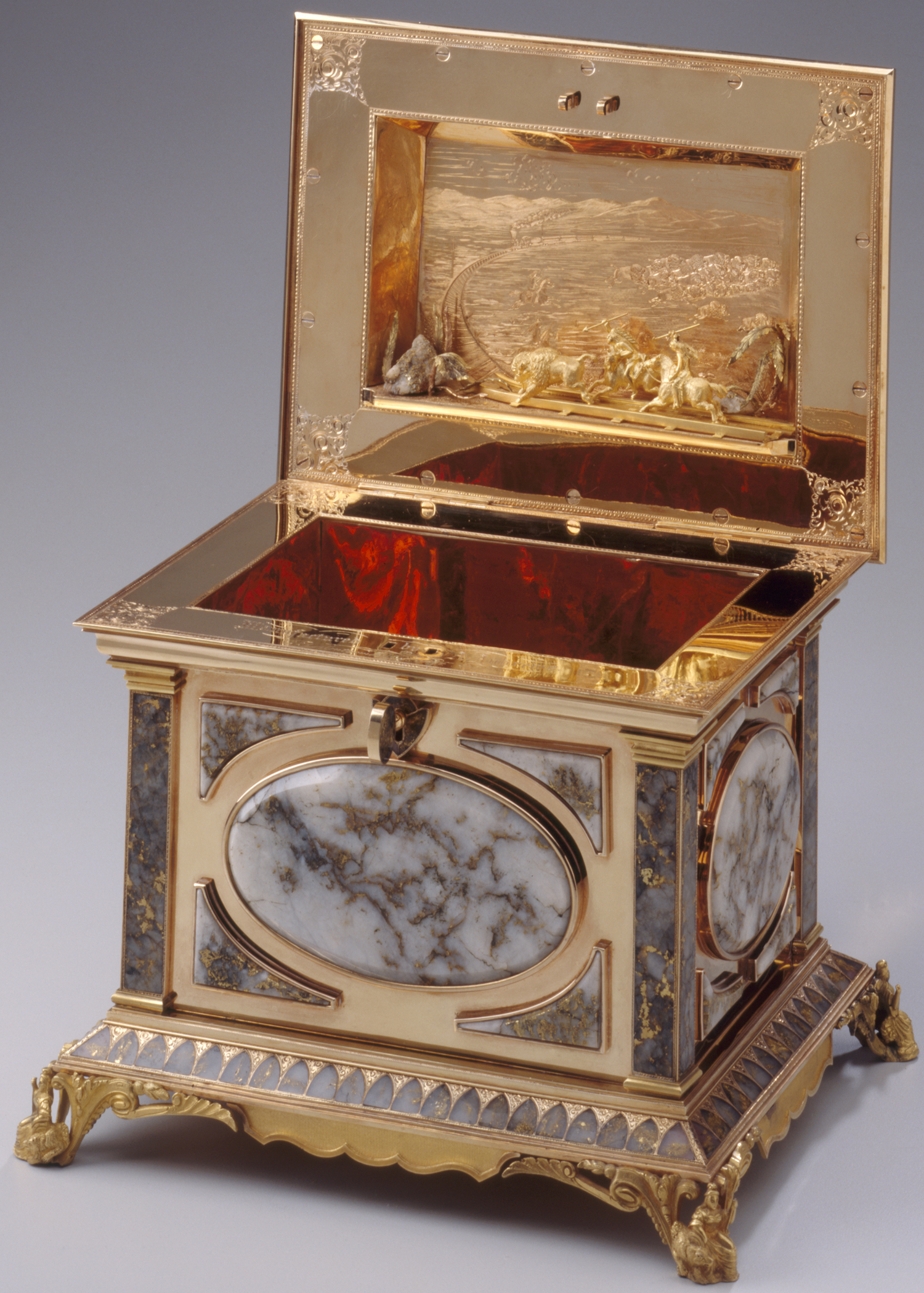the history blog blog archive gold rush jewelry box