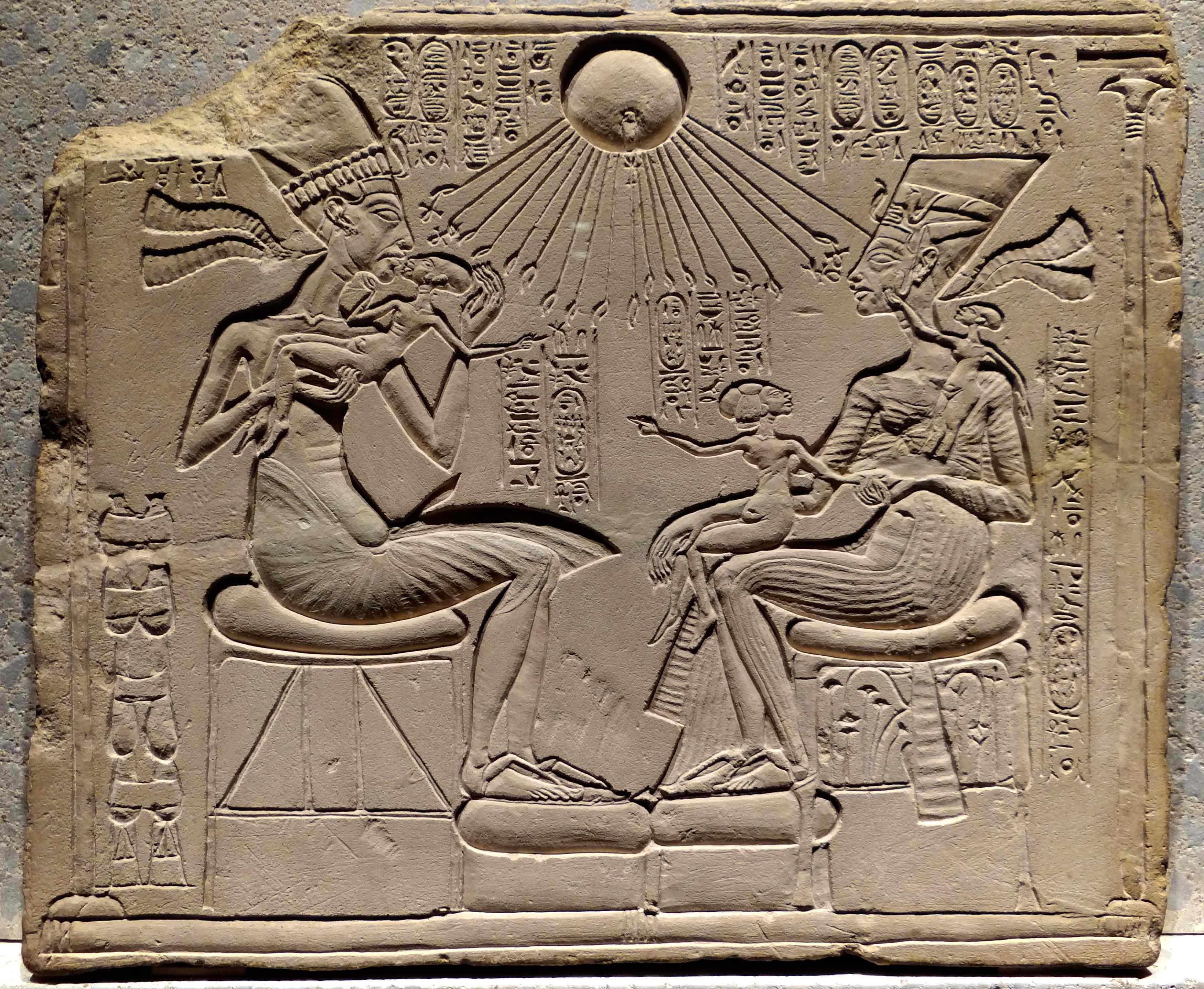 Akhenaten god sun