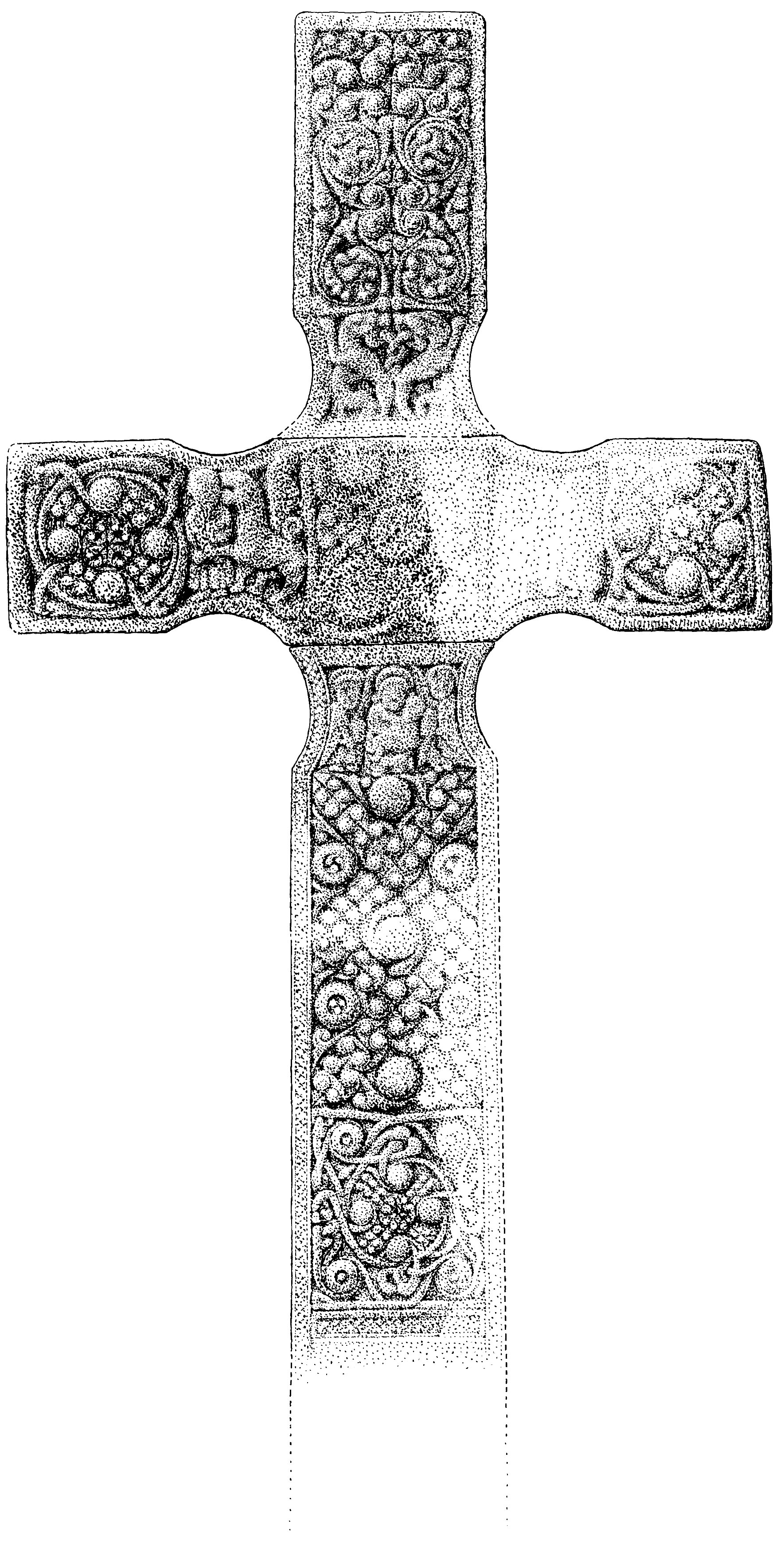 The History Blog Blog Archive St Orans Cross Reassembled For
