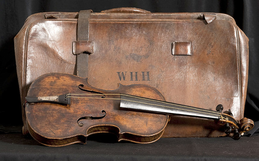 the history blog  u00bb blog archive  u00bb violin played as titanic sank found in attic