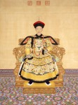 Qianlong Emperor in Court Dress by Giuseppe Castiglione, 1736