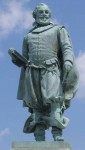 Statue of Captain John Smith at Jamestown