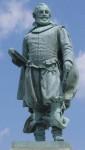 Statue of Captain John Smith at Jamestown
