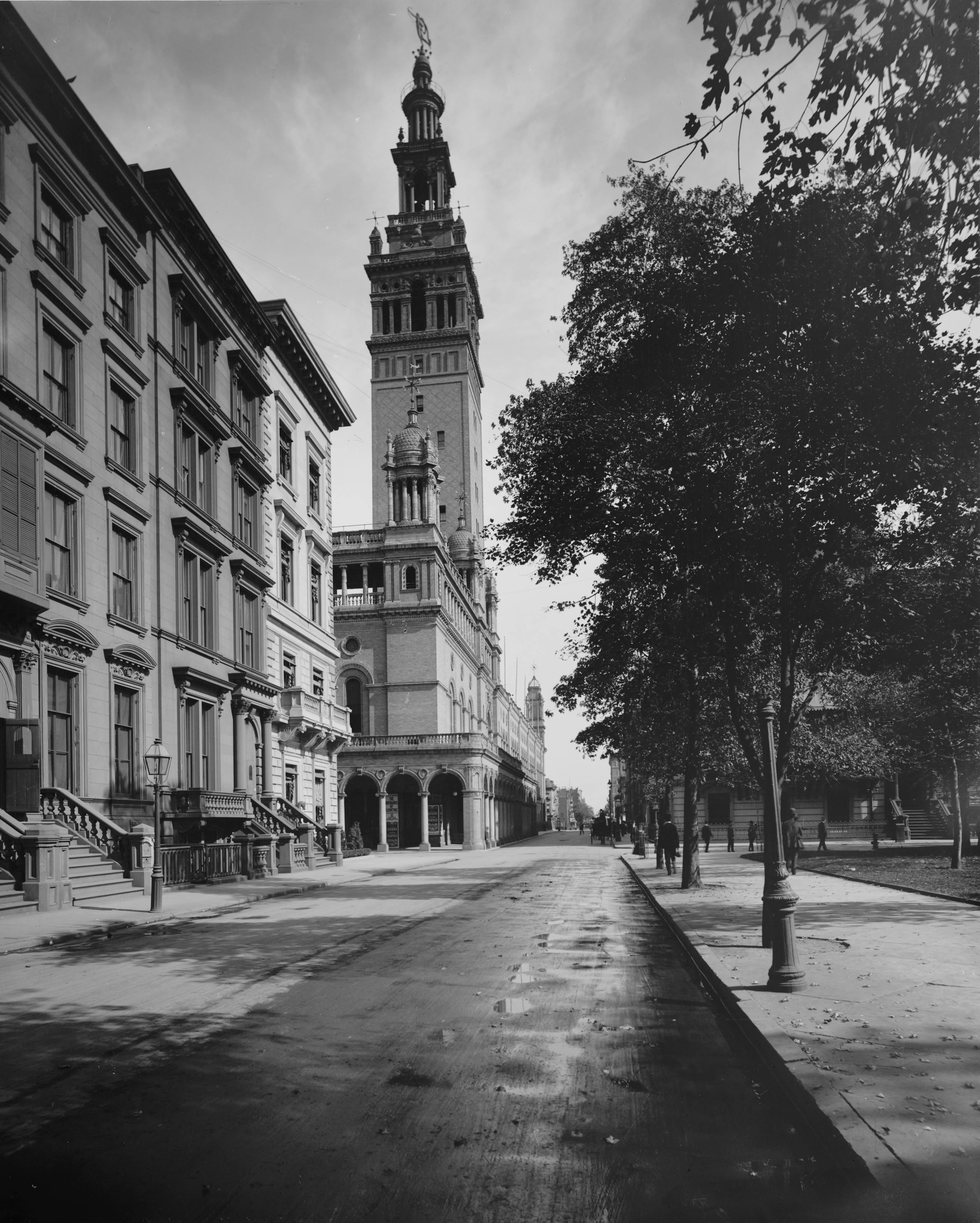 The history blog blog archive saint gaudens diana to - History of madison square garden ...