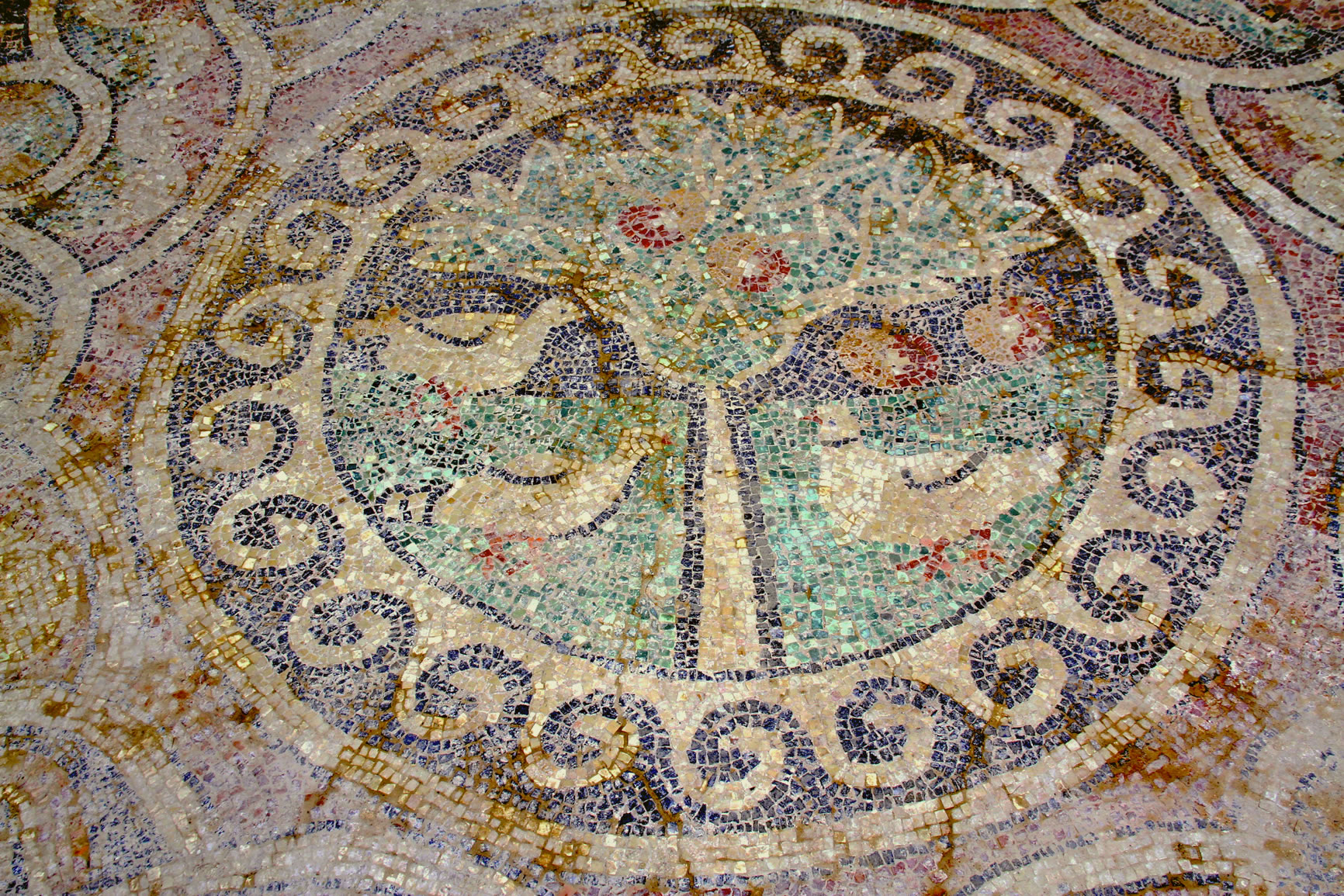 Doves in Yavru mosaic