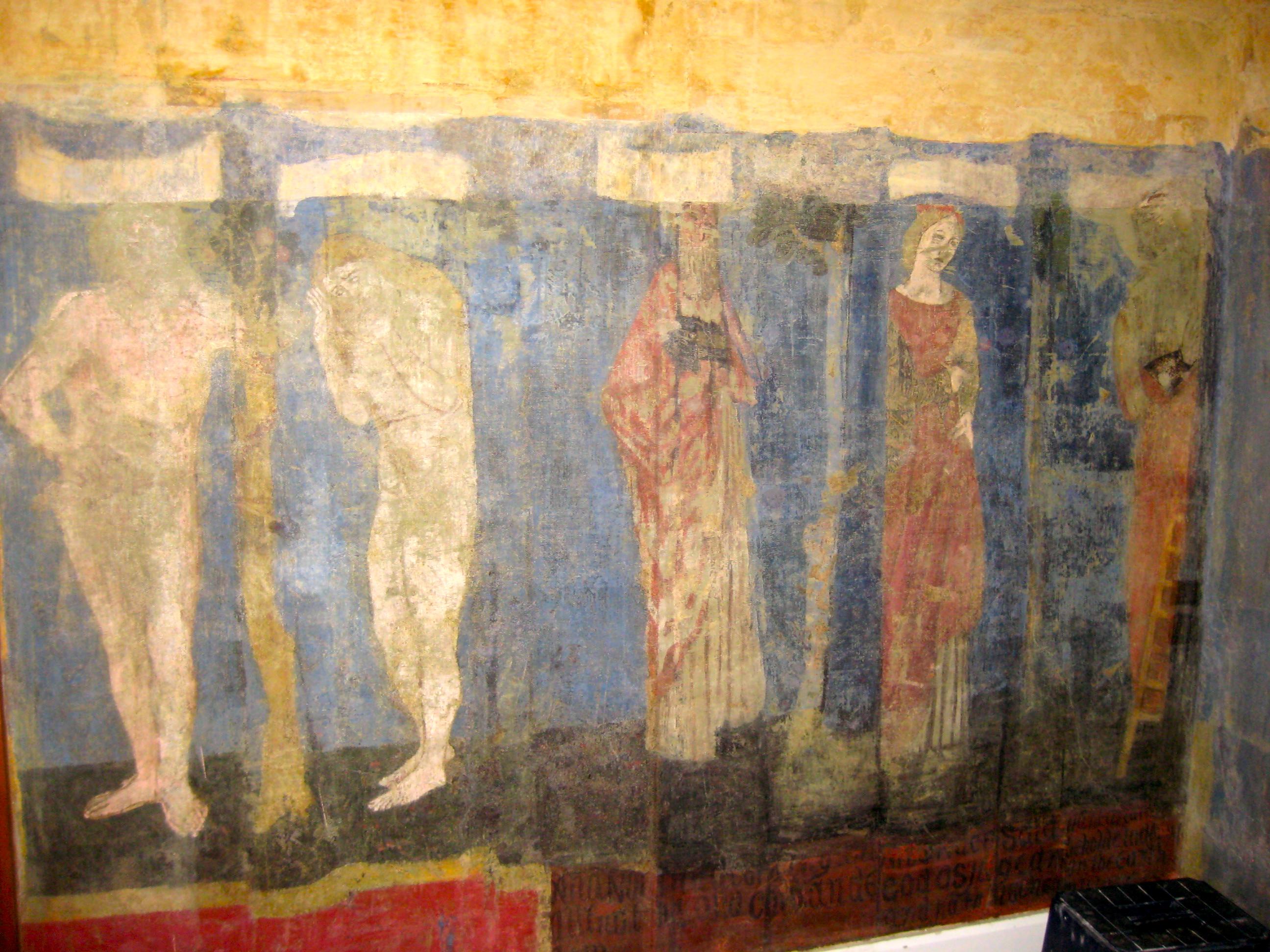 The History Blog Blog Archive Pre Raphaelite Mural Found