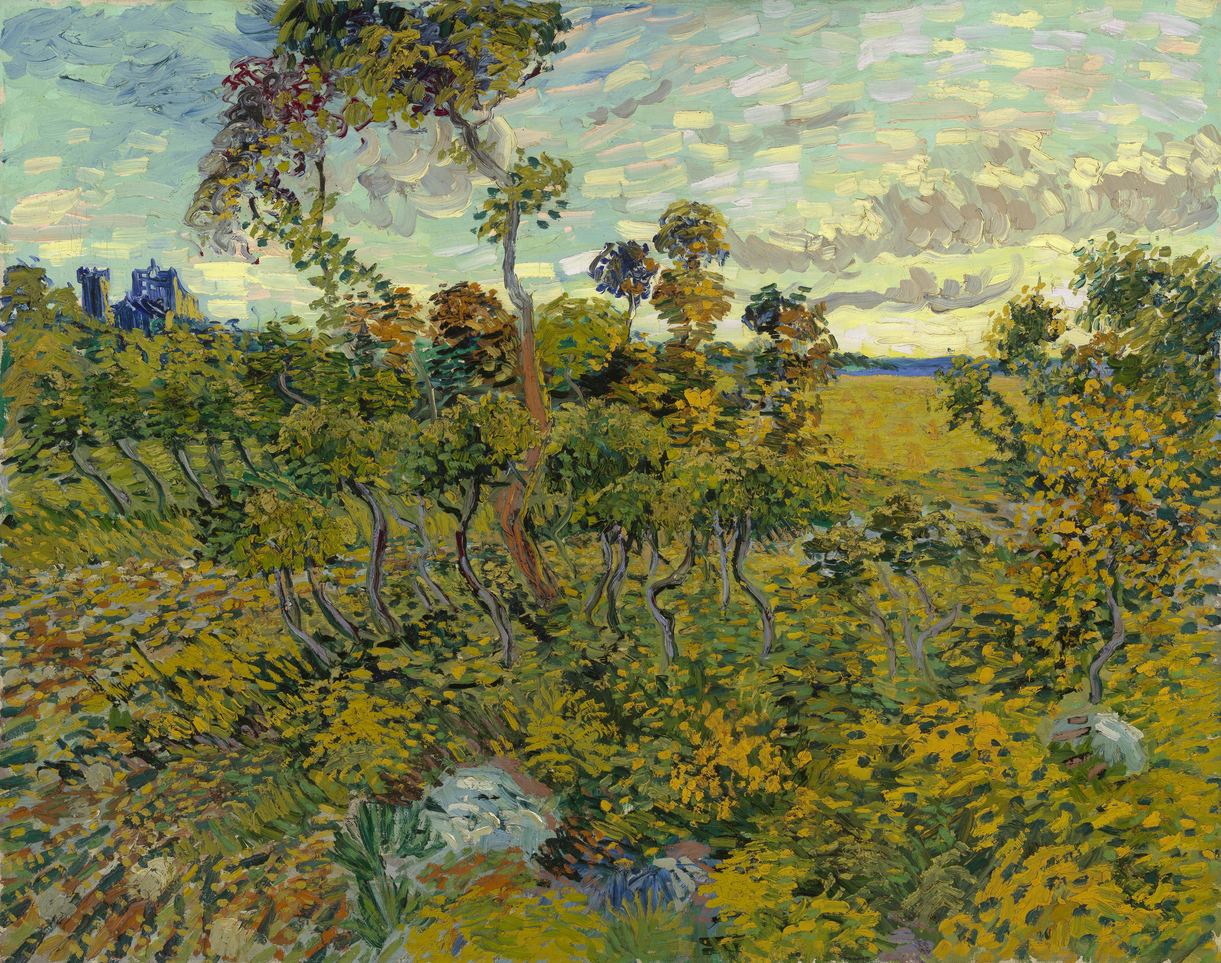 van gough poet garden vs monet The poet's garden oil painting by vincent van gogh, the highest quality oil painting reproductions and great customer service.