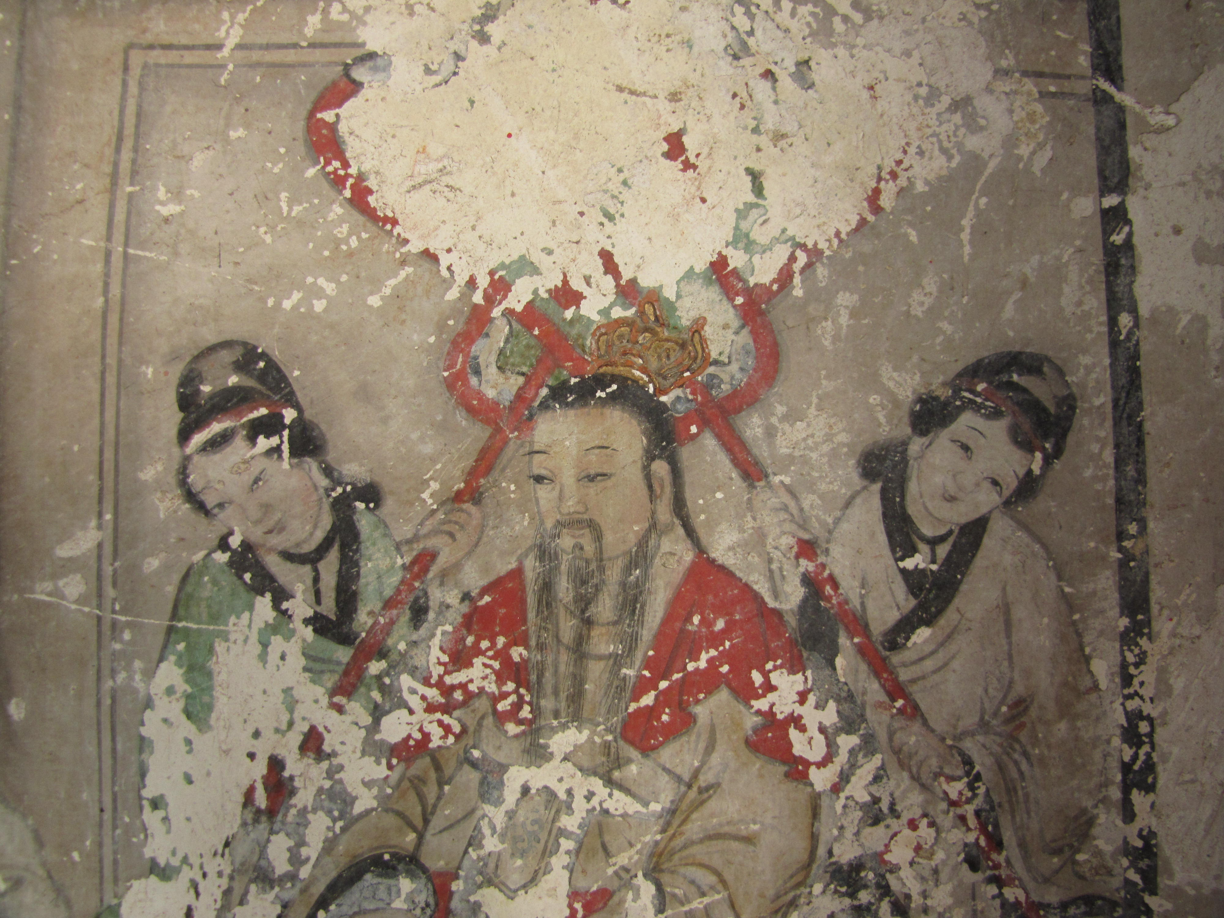 The history blog blog archive qing dynasty murals for Dynasty mural works