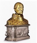 Reliquary bust of San Gennaro commissioned by King Charles II of Anjou, 1304-5