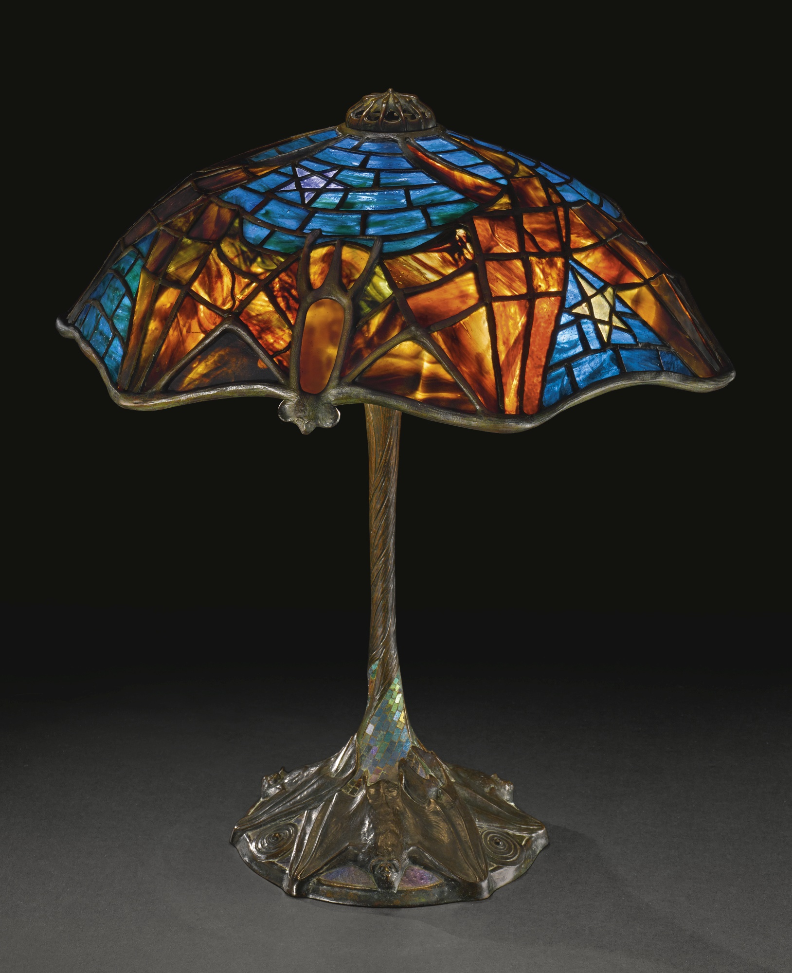 The History Blog Blog Archive Nobody Bought The Tiffany Bat Lamp