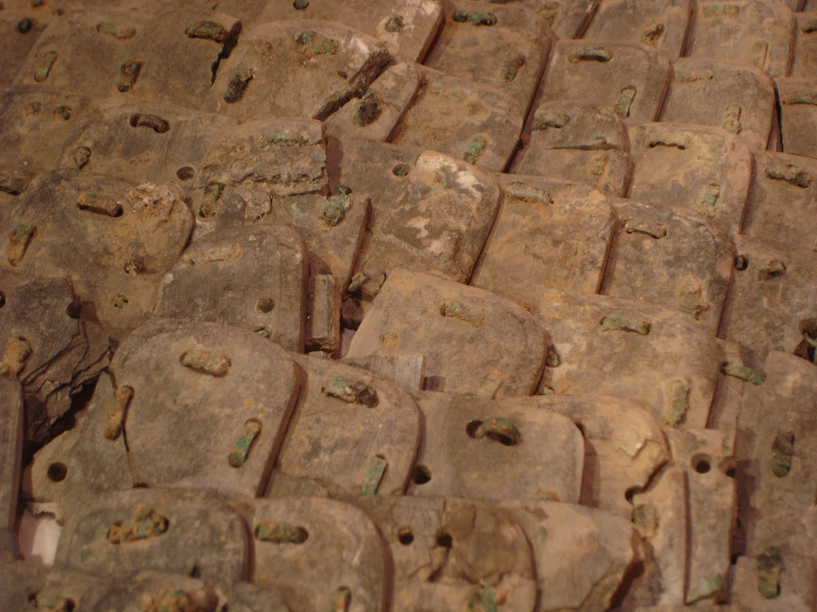 Blog Archive » Stone armor pit at Terracotta Army tomb excavated