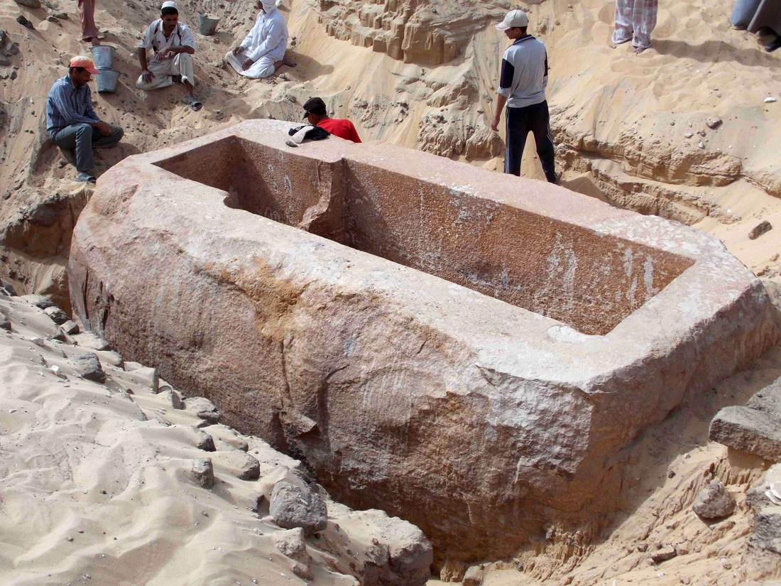 The History Blog » Blog Archive » Tomb of Pharaoh ...