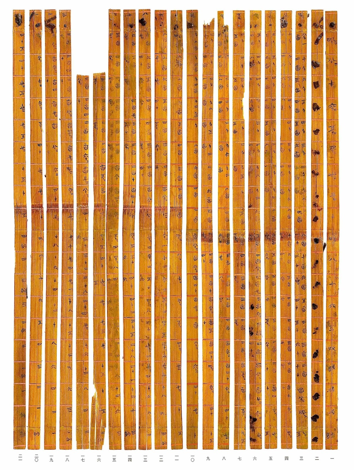 The history blog blog archive worlds oldest times table found researchers from tsinghua university in beijing have discovered the worlds oldest decimal multiplication table on 21 strips gamestrikefo Gallery