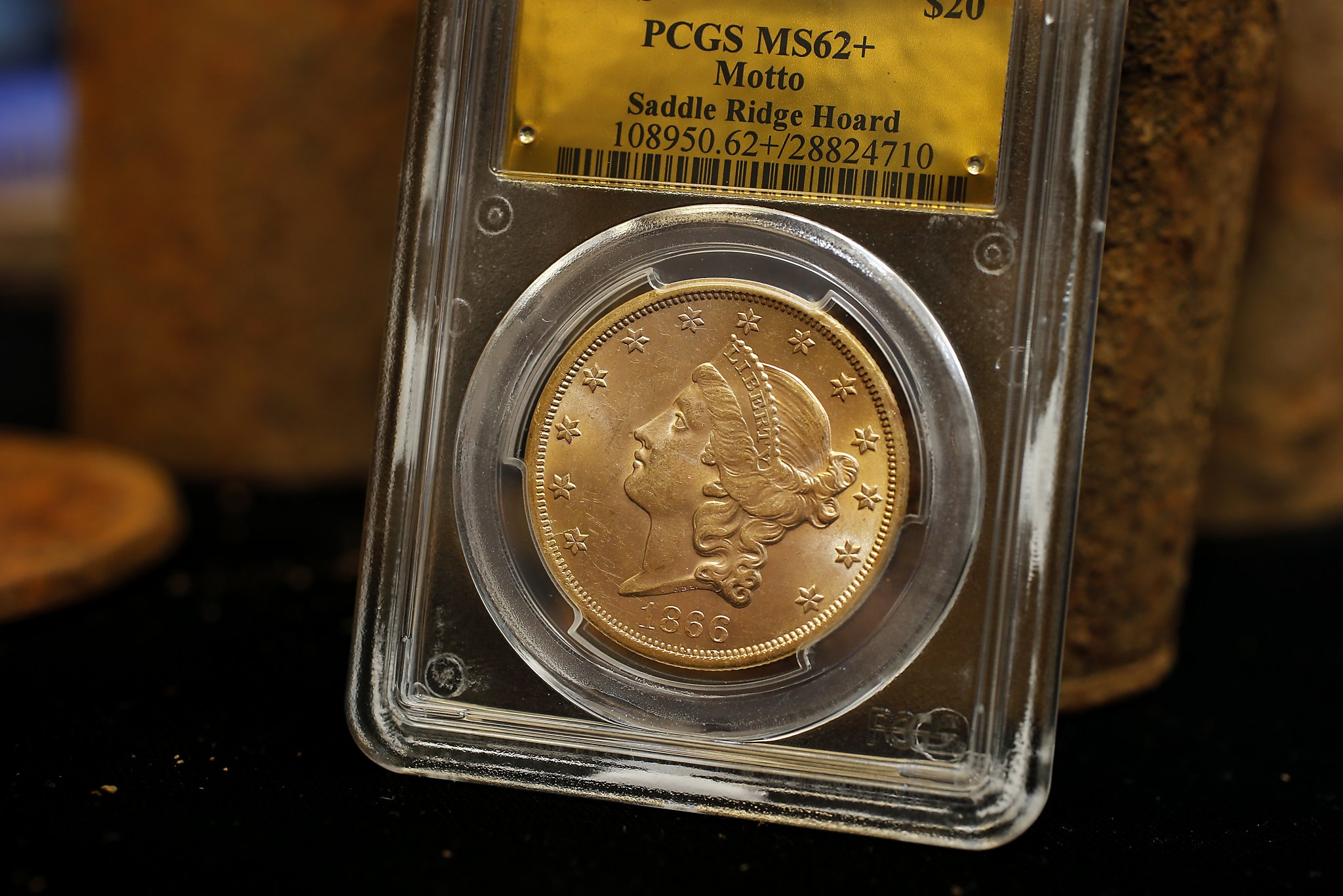 California Gold Coins Found In Backyard the history blog » blog archive » couple walking dog find biggest