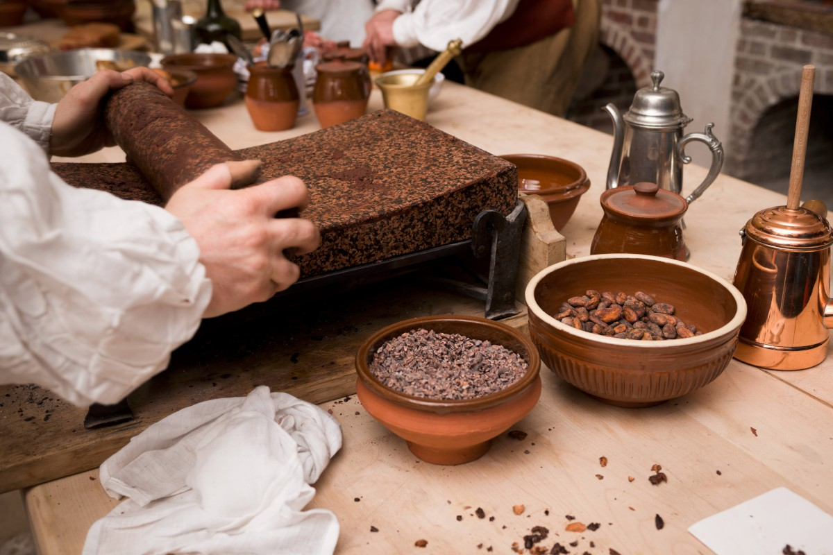 The History Blog » Blog Archive » Hampton Court chocolate kitchen ...