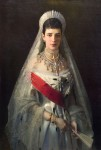Portrait of the Empress Maria Feodorovna by Ivan Nikolaevich Kramskoy, 1882