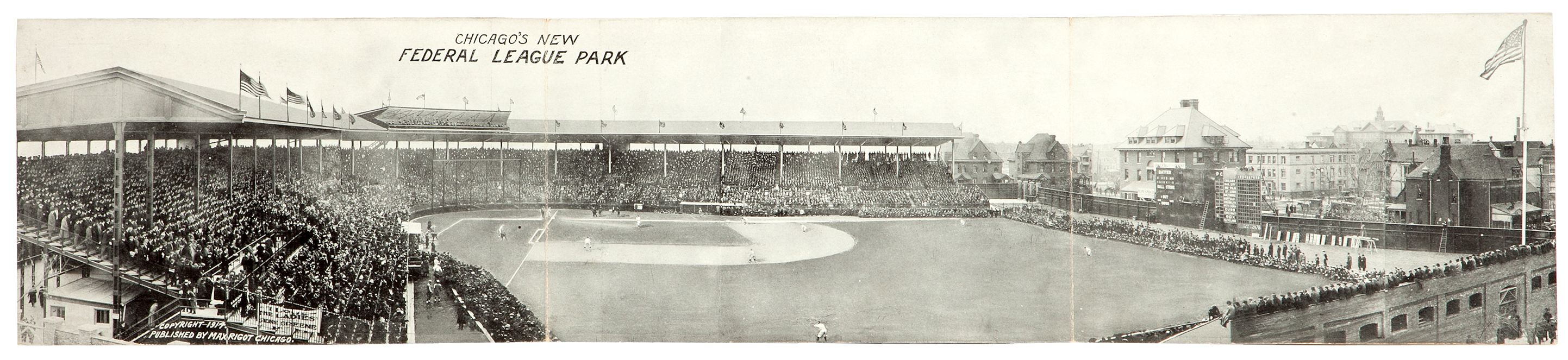 The History Blog Blog Archive Happy 100th Birthday Wrigley Field